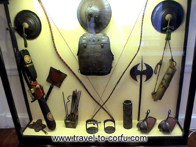 MUSEUM OF ASIAN ART - Chinese military equipment.