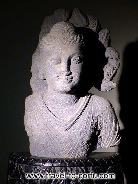 MUSEUM OF ASIAN ART - A characteristic sample of Asian 
