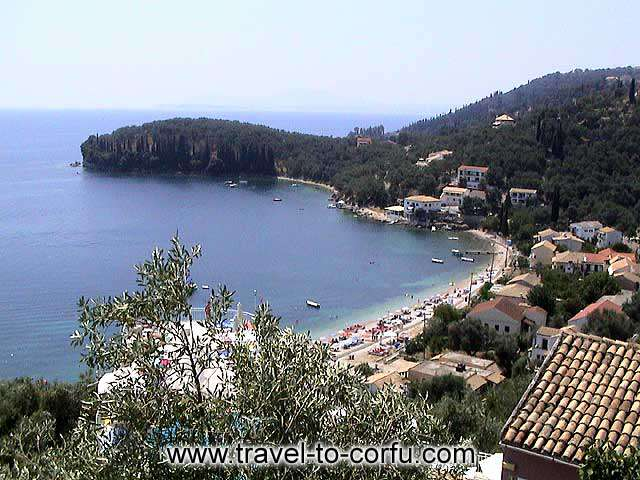 CORFU - Make a tour to the traditional villages and to the beaches of Corfu.