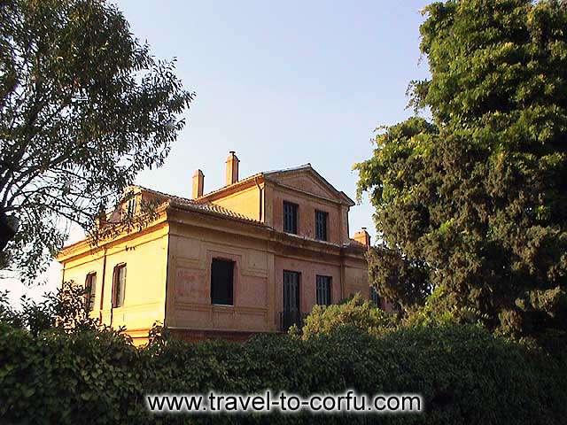 CORFU - A beautiful mansion house.