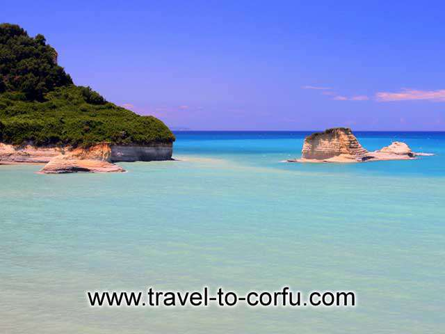 BEACH IN CORFU -