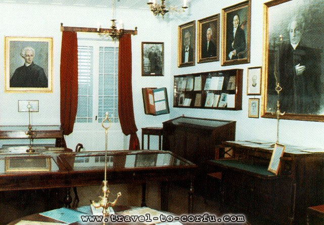 SOLOMOS MUSEUM - In the museum Solomos you will see a lot of personal objects of poet.