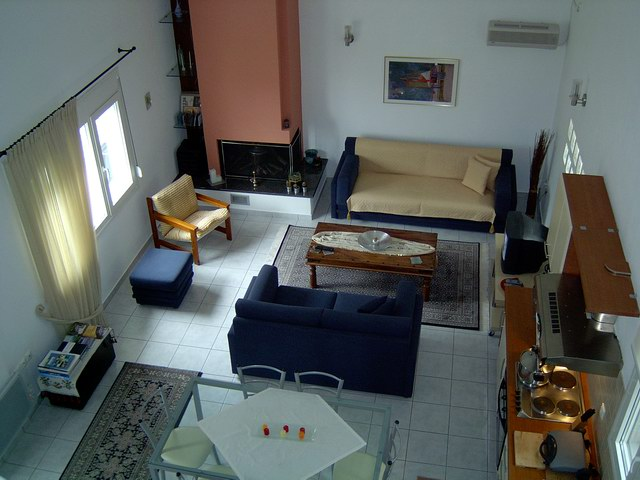 MARGARITI Panoramic Image of the Apartment CLICK TO ENLARGE