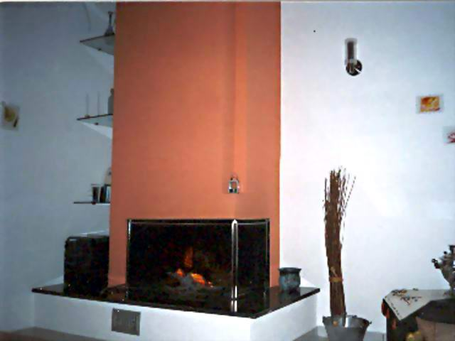 MARGARITI Picture of the Fireplace CLICK TO ENLARGE