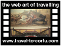 Travel to Corfu Video Gallery  - ACHILLION - Achillion, the palace of the empress Sissy is an imposing building.  Its interior adorned with murals and personal objects of Sissy. It  is famous for its gardens with the age – long trees and the statues. The Greek mythology lives up in Achillion.  -  A video with duration 1min 11 sec and a size of 1.115KB