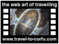 Travel to Corfu Video Gallery  - PALAIOKASTRITSA MONASTERY - A tour in the monastery and the church of Virgin Mary. It is one of the older Byzantine monuments of island. In the monastery you can also see and an old olive press.  -  A video with duration 1 min 4 sec and a size of 1.042 Kb